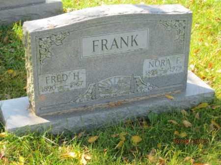 CRIDER FRANK, NORA F - Franklin County, Ohio | NORA F CRIDER FRANK - Ohio Gravestone Photos