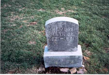 FRANK, JR., JAMES - Franklin County, Ohio | JAMES FRANK, JR. - Ohio Gravestone Photos