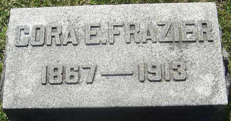 FRAZIER, CORA E - Franklin County, Ohio | CORA E FRAZIER - Ohio Gravestone Photos