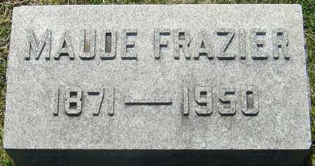 FRAZIER, MAUDE - Franklin County, Ohio | MAUDE FRAZIER - Ohio Gravestone Photos