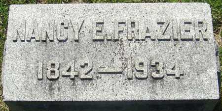 FRAZIER, NANCY E - Franklin County, Ohio | NANCY E FRAZIER - Ohio Gravestone Photos