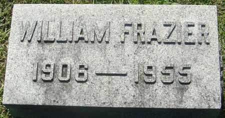 FRAZIER, WILLIAM M - Franklin County, Ohio   WILLIAM M FRAZIER - Ohio Gravestone Photos