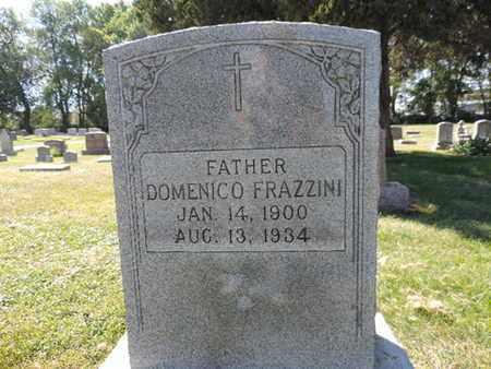 FRAZZINI, DOMENICO - Franklin County, Ohio | DOMENICO FRAZZINI - Ohio Gravestone Photos