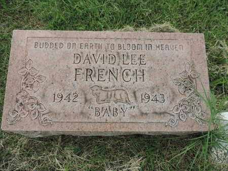 FRENCH, DAVID LEE - Franklin County, Ohio   DAVID LEE FRENCH - Ohio Gravestone Photos