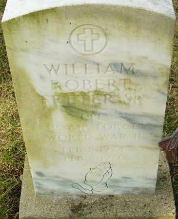 FRETER, WILLIAM ROBERT - Franklin County, Ohio   WILLIAM ROBERT FRETER - Ohio Gravestone Photos