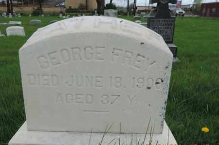 FREY, GEORGE - Franklin County, Ohio   GEORGE FREY - Ohio Gravestone Photos