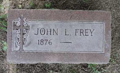 FREY, JOHN L. - Franklin County, Ohio | JOHN L. FREY - Ohio Gravestone Photos