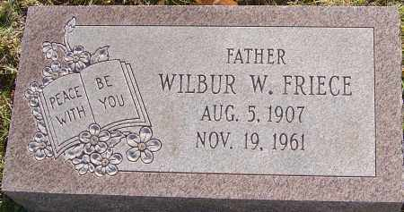 FRIECE, WILBUR - Franklin County, Ohio | WILBUR FRIECE - Ohio Gravestone Photos