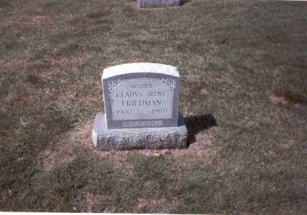 LYTLE FRIEDMAN, GLADYS IRENE - Franklin County, Ohio | GLADYS IRENE LYTLE FRIEDMAN - Ohio Gravestone Photos