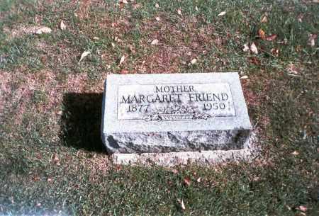 FRIEND, MARGARET - Franklin County, Ohio | MARGARET FRIEND - Ohio Gravestone Photos