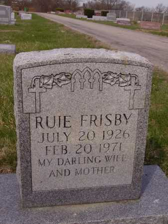 FRISBY, RUIE - Franklin County, Ohio | RUIE FRISBY - Ohio Gravestone Photos