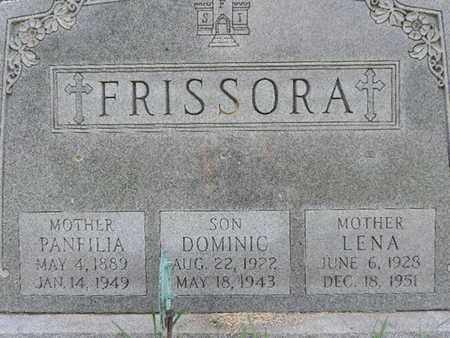 FRISSORA, DOMINIC - Franklin County, Ohio | DOMINIC FRISSORA - Ohio Gravestone Photos