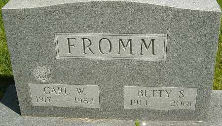 FROMM, CARL W - Franklin County, Ohio | CARL W FROMM - Ohio Gravestone Photos