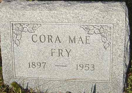 FRY, CORA MAE - Franklin County, Ohio   CORA MAE FRY - Ohio Gravestone Photos