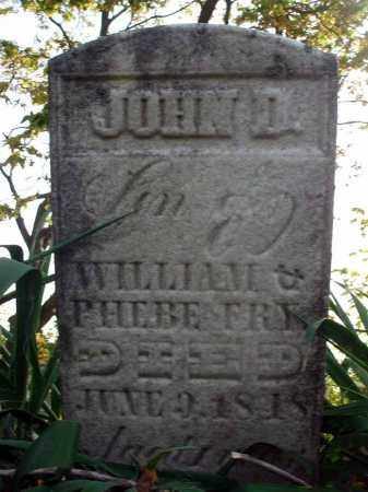 FRY, JOHN D. - Franklin County, Ohio   JOHN D. FRY - Ohio Gravestone Photos