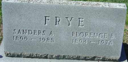 FRYE, FLORENCE BELLE - Franklin County, Ohio | FLORENCE BELLE FRYE - Ohio Gravestone Photos