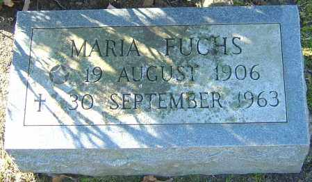 FUCHS, MARIA - Franklin County, Ohio | MARIA FUCHS - Ohio Gravestone Photos