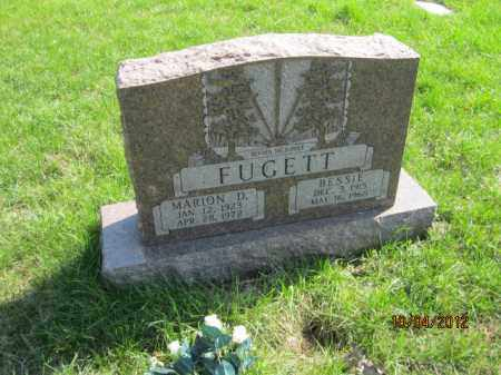 FUGETT, BESSIE - Franklin County, Ohio | BESSIE FUGETT - Ohio Gravestone Photos