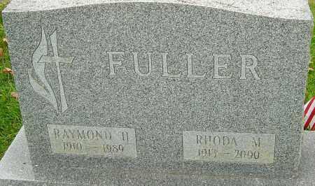 HEWITT FULLER, RHODA - Franklin County, Ohio   RHODA HEWITT FULLER - Ohio Gravestone Photos