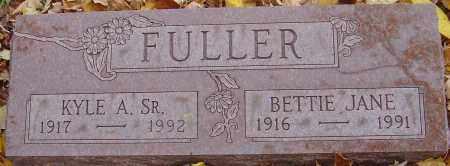 FULLER, BETTIE JANE - Franklin County, Ohio   BETTIE JANE FULLER - Ohio Gravestone Photos