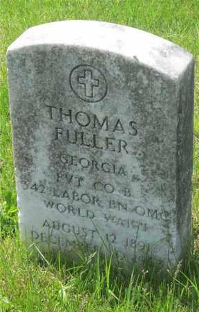 FULLER, THOMAS - Franklin County, Ohio | THOMAS FULLER - Ohio Gravestone Photos