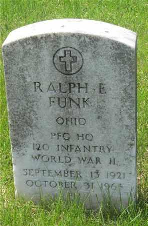 FUNK, RALPH E. - Franklin County, Ohio | RALPH E. FUNK - Ohio Gravestone Photos