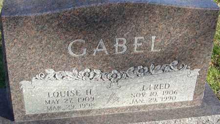 GABEL, LOUISE H - Franklin County, Ohio | LOUISE H GABEL - Ohio Gravestone Photos