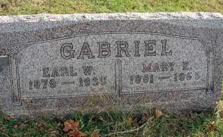 GABRIEL, EARL W. - Franklin County, Ohio   EARL W. GABRIEL - Ohio Gravestone Photos