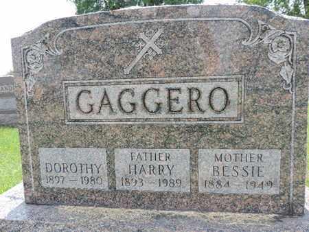 GAGGERO, HARRY - Franklin County, Ohio | HARRY GAGGERO - Ohio Gravestone Photos