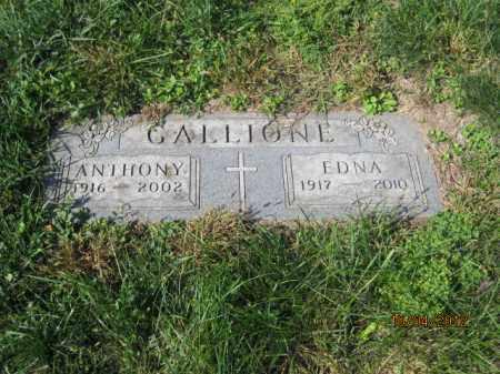 LEADMON GALLIONE, EDNA MAE - Franklin County, Ohio | EDNA MAE LEADMON GALLIONE - Ohio Gravestone Photos