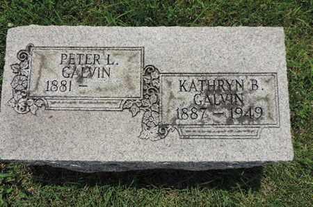 GALVIN, PETER L. - Franklin County, Ohio | PETER L. GALVIN - Ohio Gravestone Photos