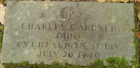 GARDNER, CHARLES - Franklin County, Ohio | CHARLES GARDNER - Ohio Gravestone Photos