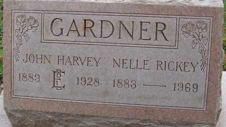 GARDNER, JOHN HARVEY - Franklin County, Ohio | JOHN HARVEY GARDNER - Ohio Gravestone Photos