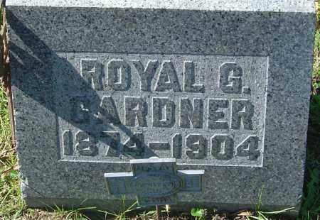 GARDNER, ROYAL G - Franklin County, Ohio | ROYAL G GARDNER - Ohio Gravestone Photos