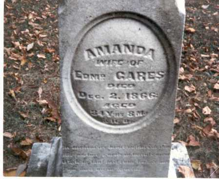 GARES, AMANDA - Franklin County, Ohio | AMANDA GARES - Ohio Gravestone Photos