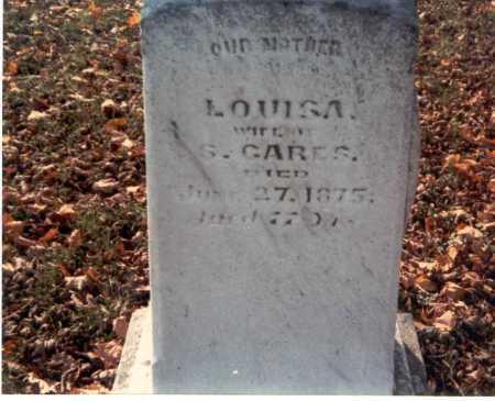 GARES, LOUISA - Franklin County, Ohio   LOUISA GARES - Ohio Gravestone Photos