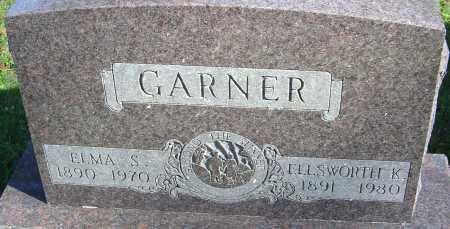 GARNER, ELLSWORTH K - Franklin County, Ohio | ELLSWORTH K GARNER - Ohio Gravestone Photos