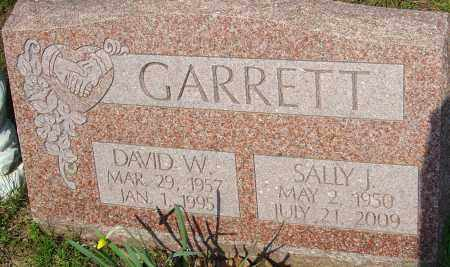 GARRETT, SALLY J - Franklin County, Ohio | SALLY J GARRETT - Ohio Gravestone Photos