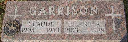 GARRISON, CLAUDE - Franklin County, Ohio | CLAUDE GARRISON - Ohio Gravestone Photos