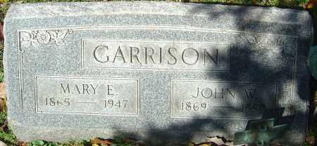 GARRISON, MARY ELIZABETH - Franklin County, Ohio | MARY ELIZABETH GARRISON - Ohio Gravestone Photos