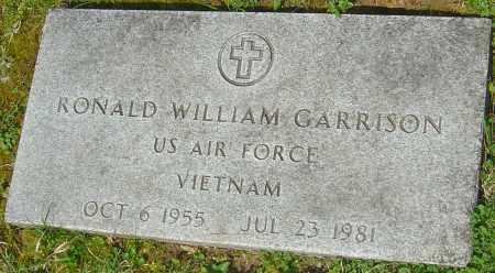 GARRISON, RONALD WILLIAM - Franklin County, Ohio | RONALD WILLIAM GARRISON - Ohio Gravestone Photos