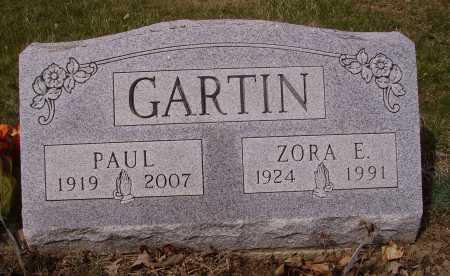 GARTIN, ZORA E. - Franklin County, Ohio | ZORA E. GARTIN - Ohio Gravestone Photos