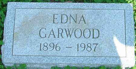 GARWOOD, EDNA - Franklin County, Ohio | EDNA GARWOOD - Ohio Gravestone Photos