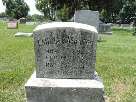 GASBARRO, EMIDIA - Franklin County, Ohio | EMIDIA GASBARRO - Ohio Gravestone Photos