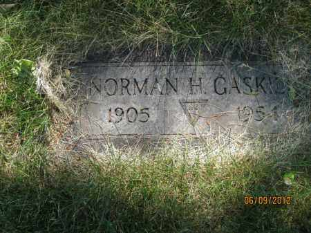 GASKILL, NORMAN H - Franklin County, Ohio | NORMAN H GASKILL - Ohio Gravestone Photos