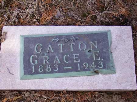 GATTON, GRACE E. - Franklin County, Ohio | GRACE E. GATTON - Ohio Gravestone Photos