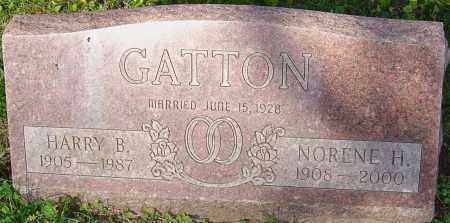 HILL GATTON, M NORENE - Franklin County, Ohio | M NORENE HILL GATTON - Ohio Gravestone Photos