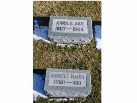 MILLER GAY, ANNA F. - Franklin County, Ohio | ANNA F. MILLER GAY - Ohio Gravestone Photos