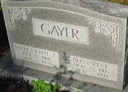 GAYER, MARGUERITE - Franklin County, Ohio | MARGUERITE GAYER - Ohio Gravestone Photos