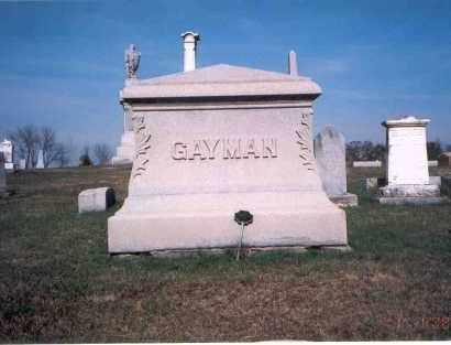 GAYMAN, MONUMENT - Franklin County, Ohio | MONUMENT GAYMAN - Ohio Gravestone Photos